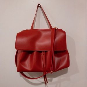 Handbags - Red Crossbody Bag